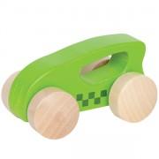 Coche de madera Verde