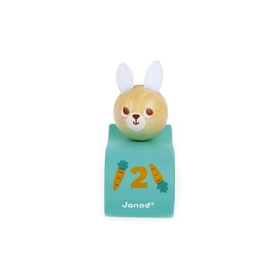 Coche de Tracción Conejo Janod Pocket