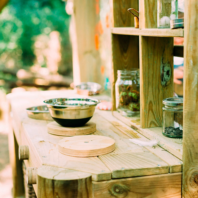 Cocinita de Exterior Discovery: Mud Pie