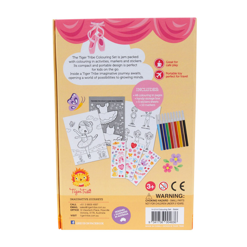 Colouring Set: Ballet