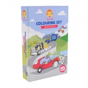Colouring Set: Coches y Camiones
