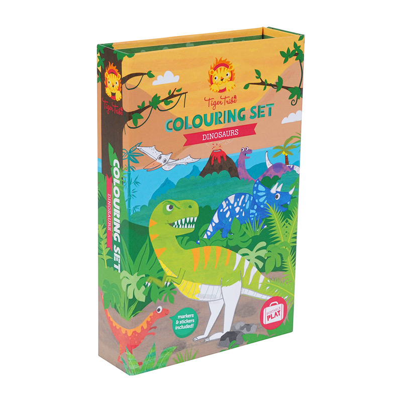 Colouring Set: Dinosaurios