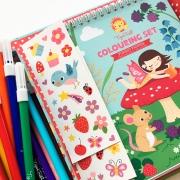 Colouring Set: Hadas del Bosque