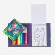 Colouring Set: Patrones Ocultos de Animales