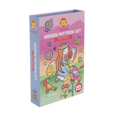 Colouring Set: Patrones Ocultos Hadas