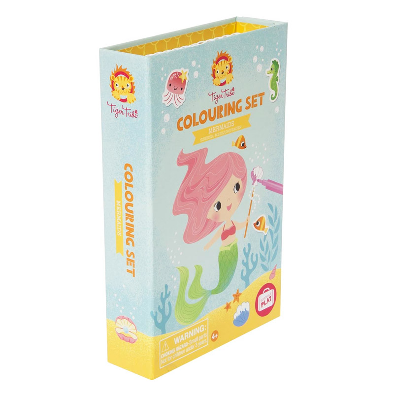 Colouring Set: Sirenas