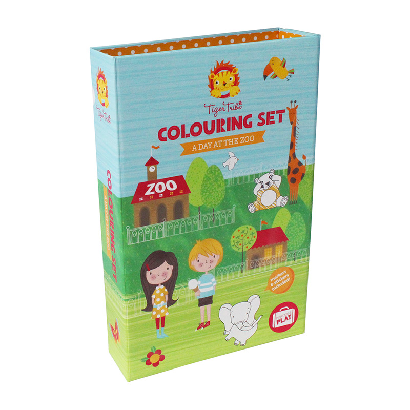 Colouring Set: Un día en el Zoo