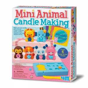 Crea Mini Velas de Animales
