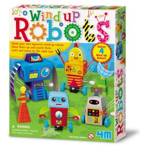 Crea Robots de cuerda