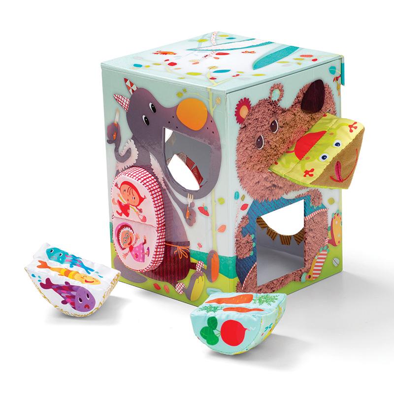 Crunch Box: Caja con Formas