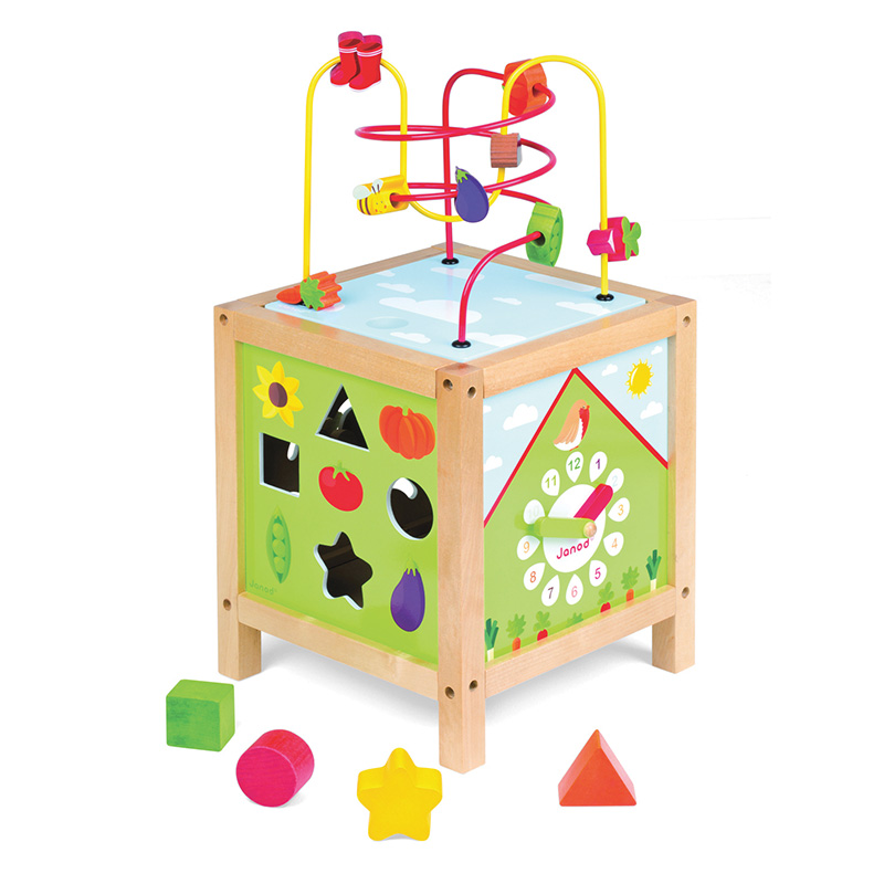 Cubo de actividades maxi looping jard n de janod en minikidz for Actividades para jardin