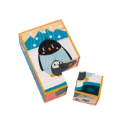 Cubos de Madera Animales Colección WWF®