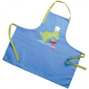 Delantal para niños Dino Pastelero