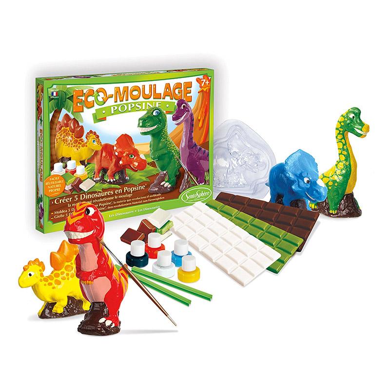 Dinosaurios con Popsine