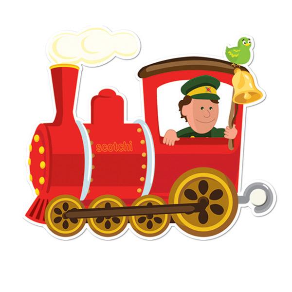 Plantillas de trenes infantiles - Imagui