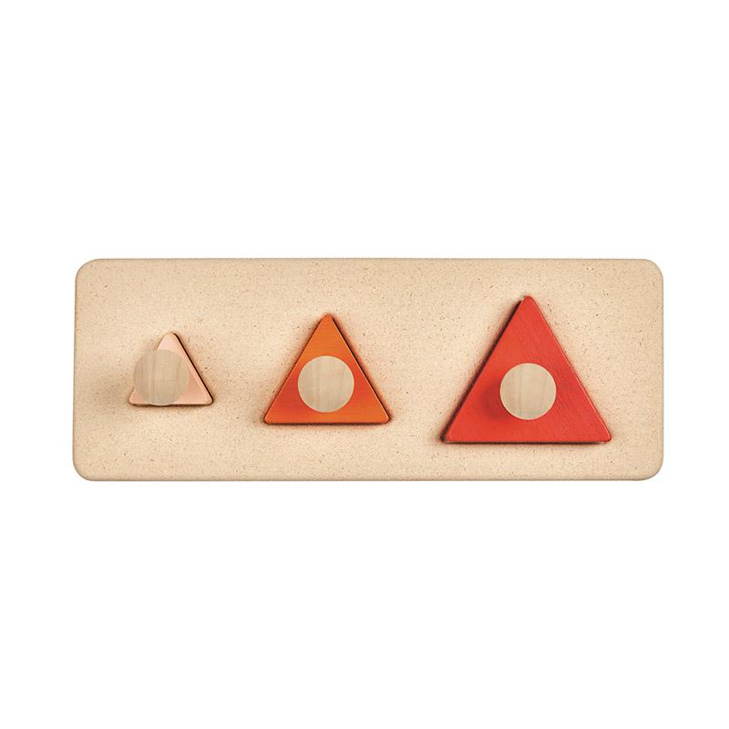 Encaja los Triángulos