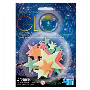 Estrellas de Colores Fluorescentes