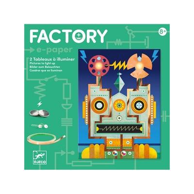 Factory Tarjetas Luminosas: Cíborgs