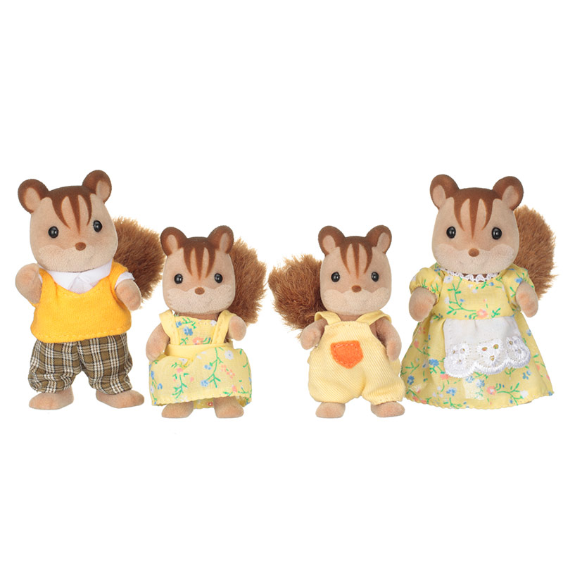 Familia Ardillas de la Nuez
