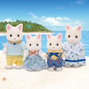 Familia Gatos Seda