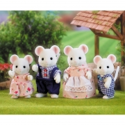Familia Ratones Blancos