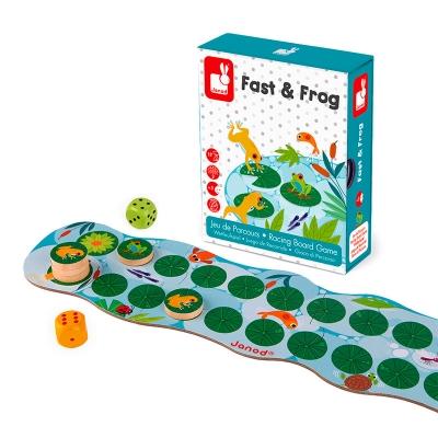 Fast & Frog: Juego de Recorrido
