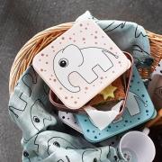 Fiambrera: Elefante Elphee Gris
