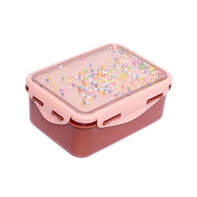 Fiambrera Popsicles Rosa Coral