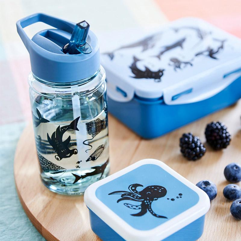 Fiambrera Sea Animals Azul