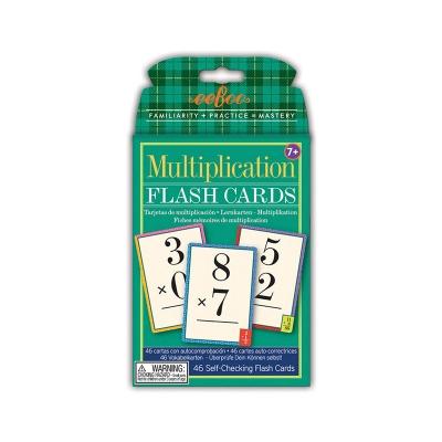 Flash Cards Multiplicaciones