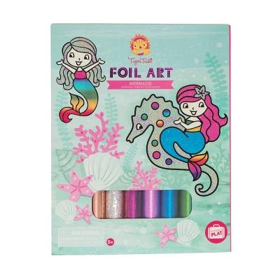 Foil Art Sirenas