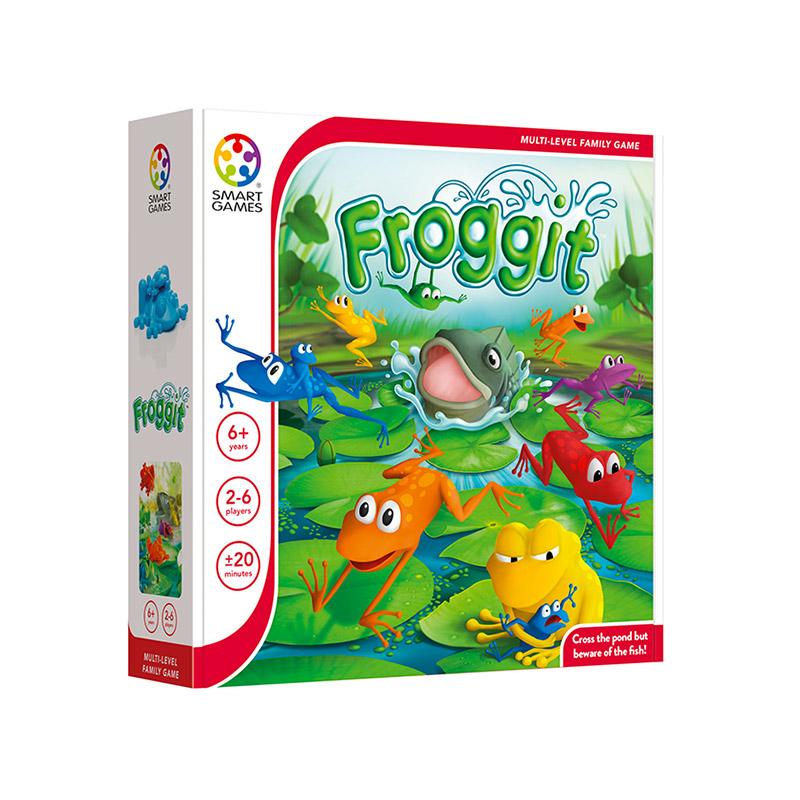 Froggy ¡Cruza el estanque!