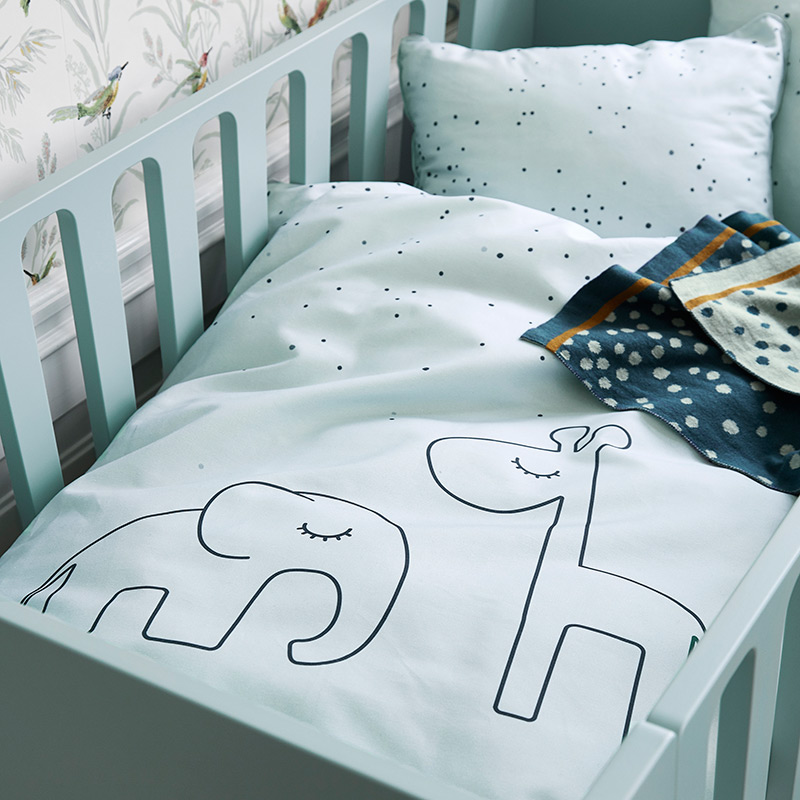 Funda Nórdica Baby: Dreamy Dots Blanco