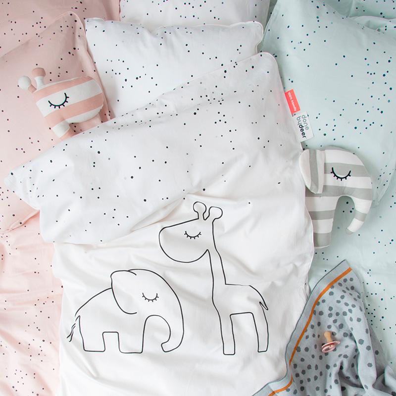Funda Nórdica Junior Dreamy Dots Rosa