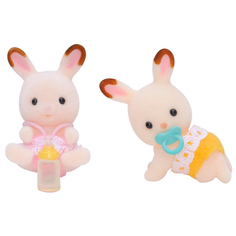 Gemelos Conejos Chocolate