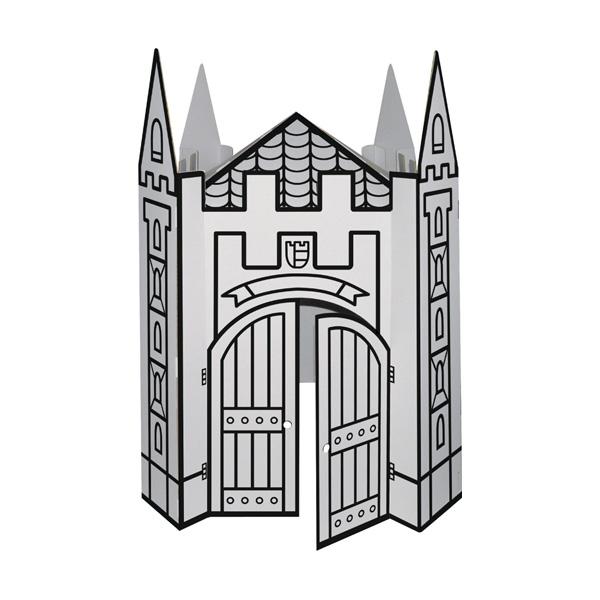 Gran Castillo de Cartón para pintar de Villa Cartón en MiniKidz