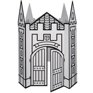 Gran Castillo de Cartón para pintar