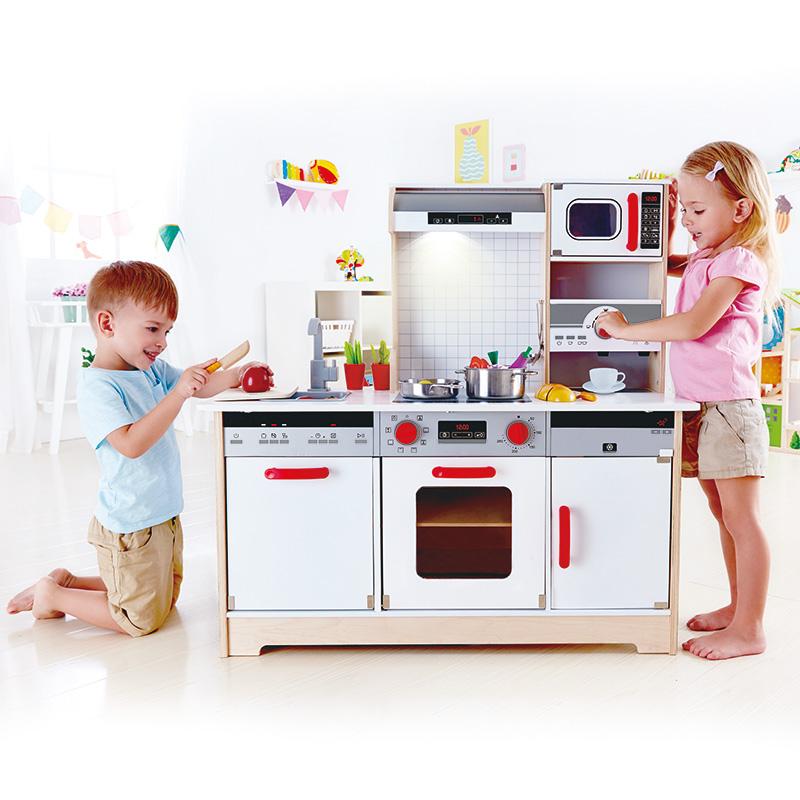 Gran cocina todo en 1 de hape en minikidz for Cosina para todos