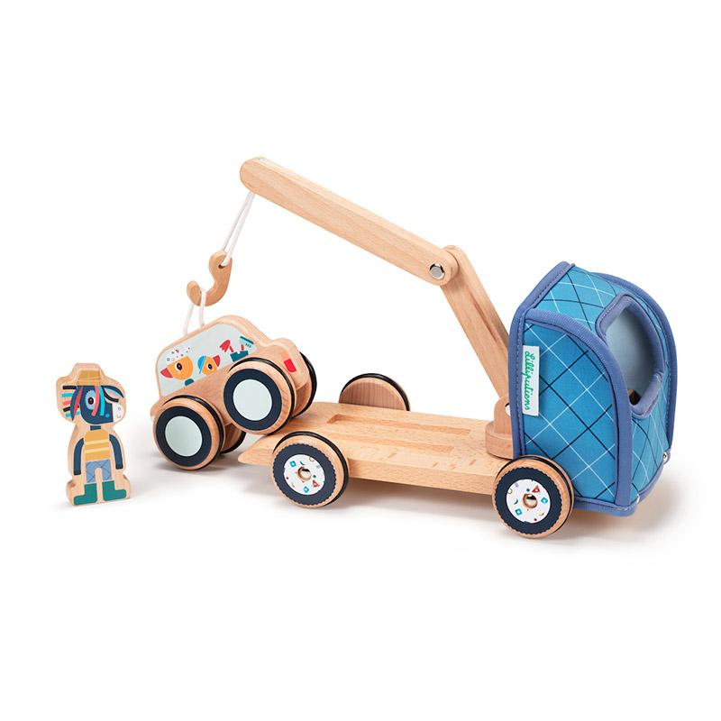 Ignace Grúa con coche