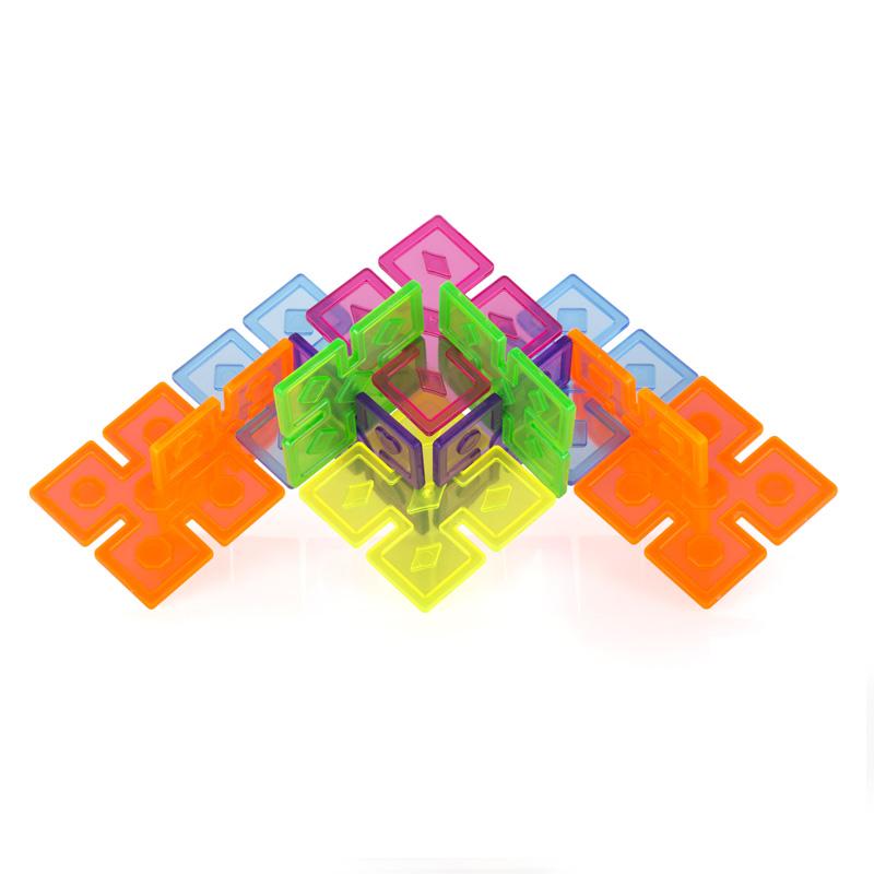 Interlox Cuadrado 96 piezas