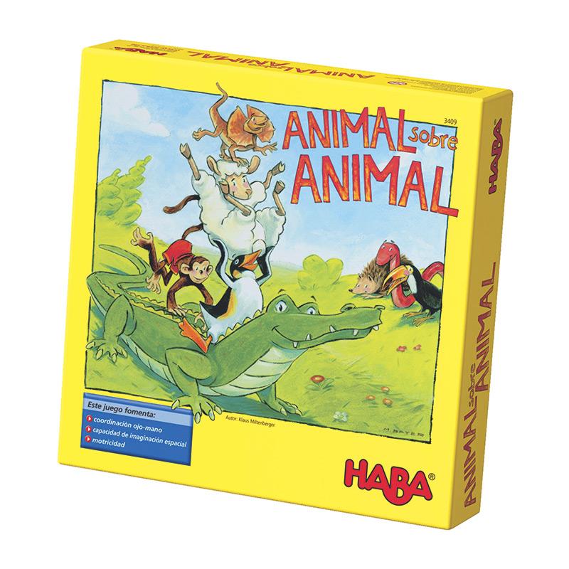 Juego Animal sobre Animal