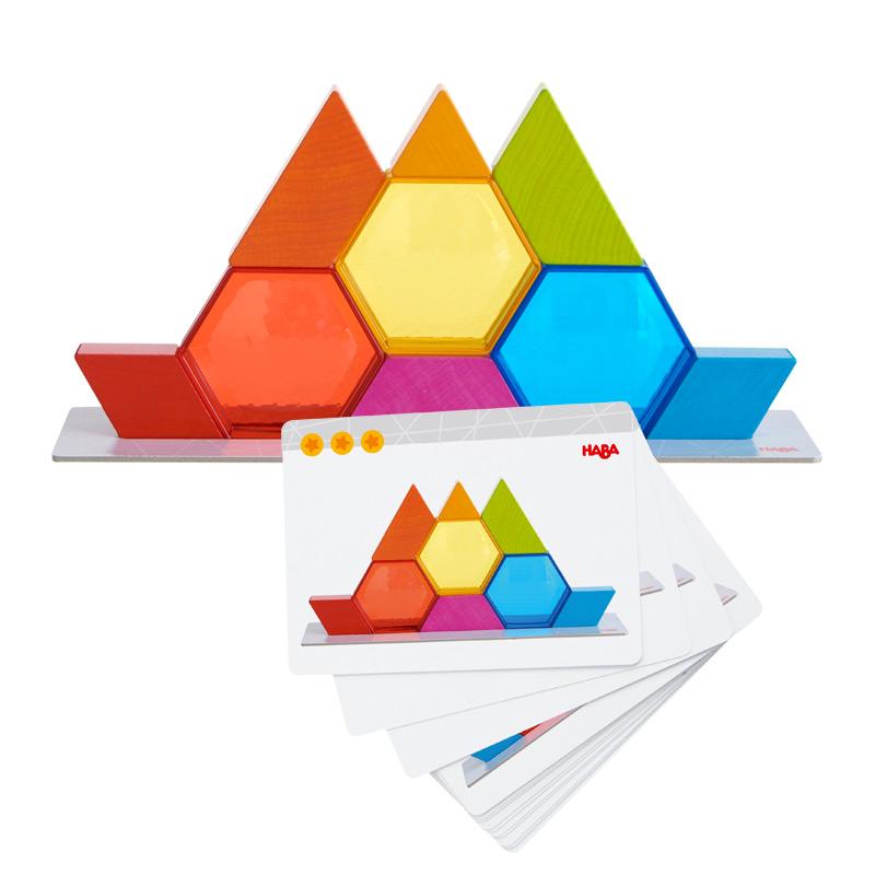 Juego de Apilar: Cristales de Colores
