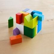 Juego de Composición en 3D: Mix de Cubos