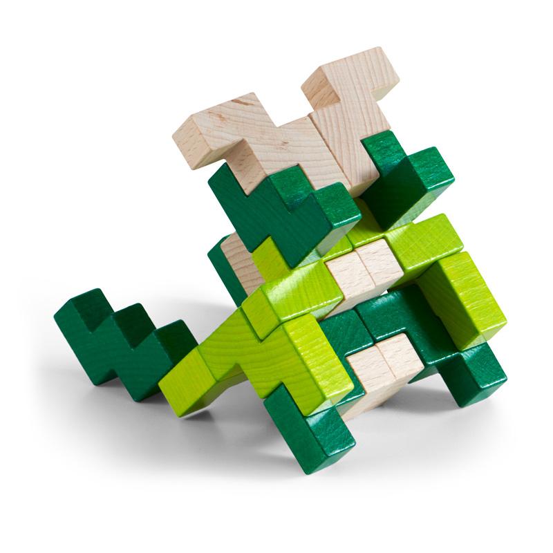 Juego de Composición en 3D Viridis