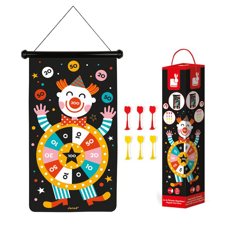 Juego de Dardos Magnéticos Circo