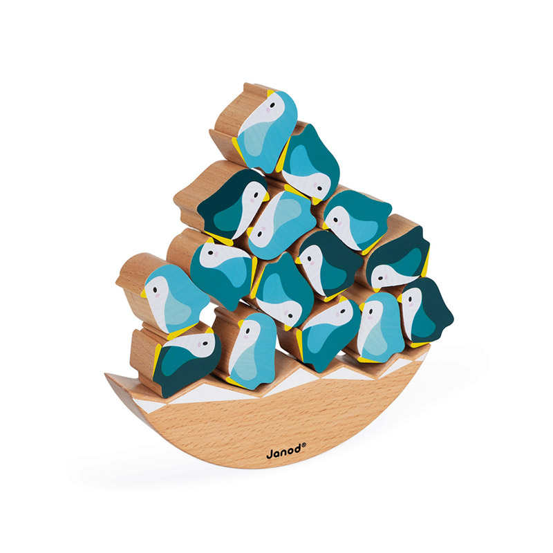 Juego de Equilibrio Pingüinos Colección WWF®