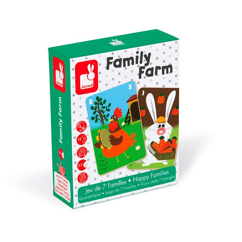 Juego de las 7 familias: Family farm