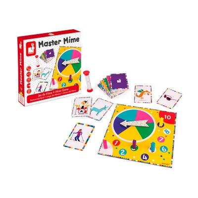Juego de mímica Master Mime