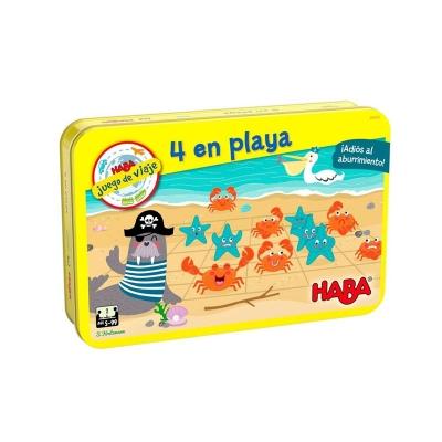 Juego de viaje 4 en Playa