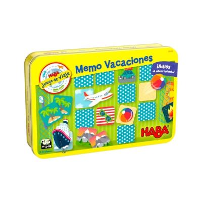 Juego de viaje Memo Vacaciones